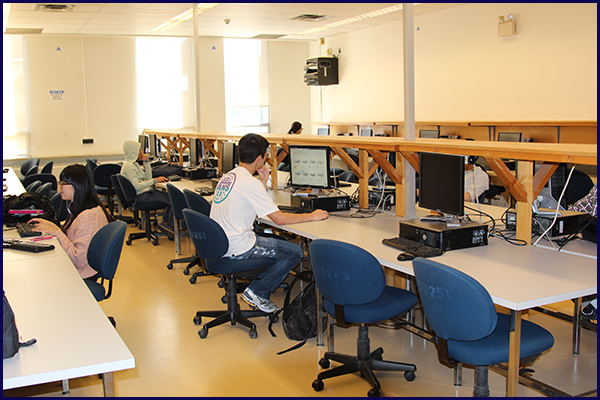 Linux computer lab.