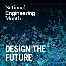 National Engineering Month logo.
