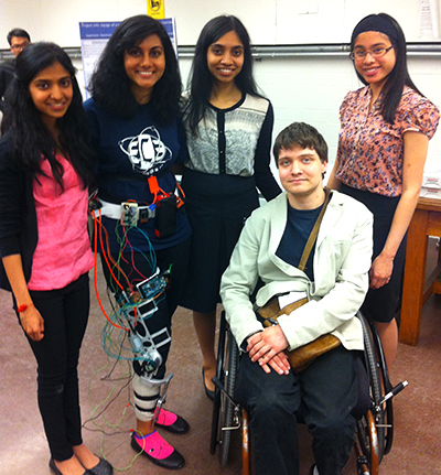 From left: Shakthi Seerala, Lakmini Perera, Kayatri Rangarajan, Tom Garside and Elizabeth Sumitro.