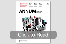 Cover of ANNUM 2015