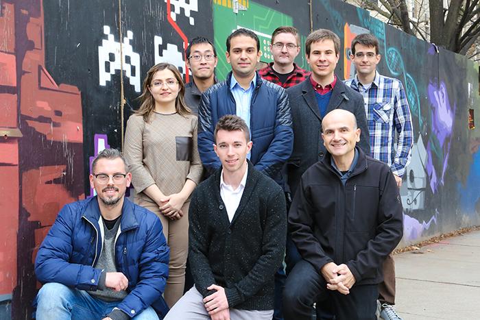 Professor Moshovos and his team