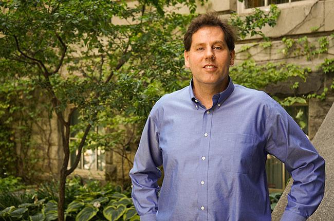 Professor Vaughn Betz (ECE). (Photo: Jess MacInnis)